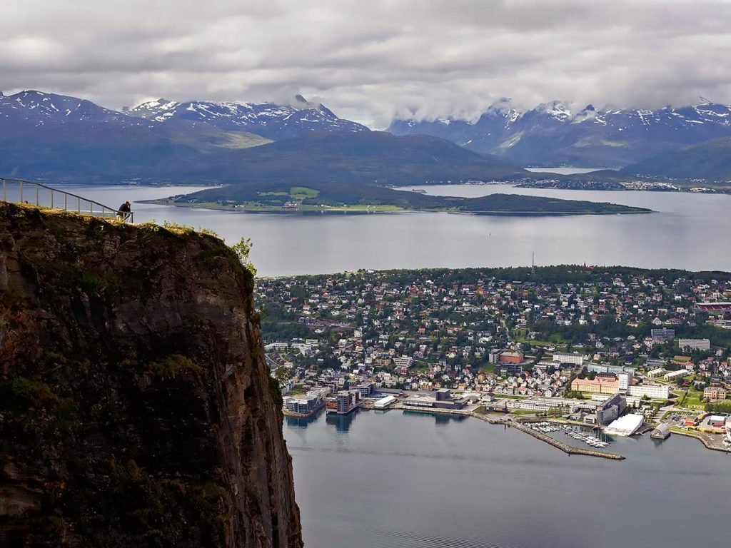 Utsikt over Tromsø